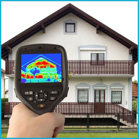 Тепловизионное обследование дома 201-300 кв.м.